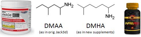 DMAA vs DMHA