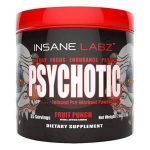 Our Psychotic Pre Workout Complex Review: is it banned, possible side effects?