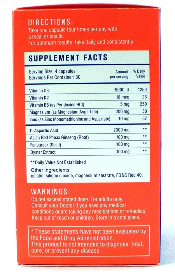testofuel ingredients reviewed
