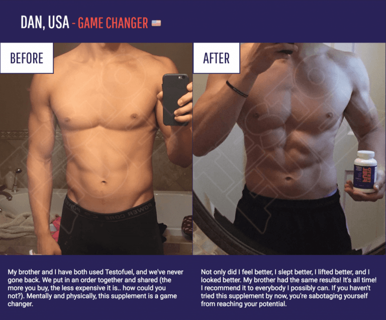 testofuel results before and after