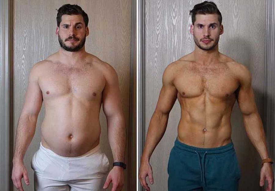 Cardarine before and after male